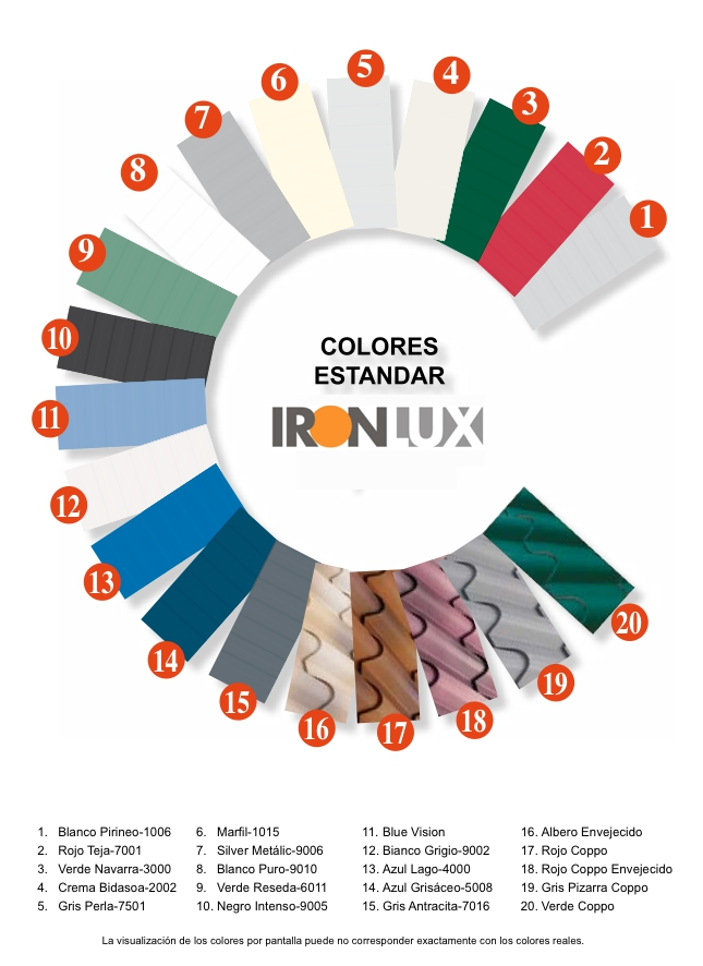 colores-estandar-ironlux