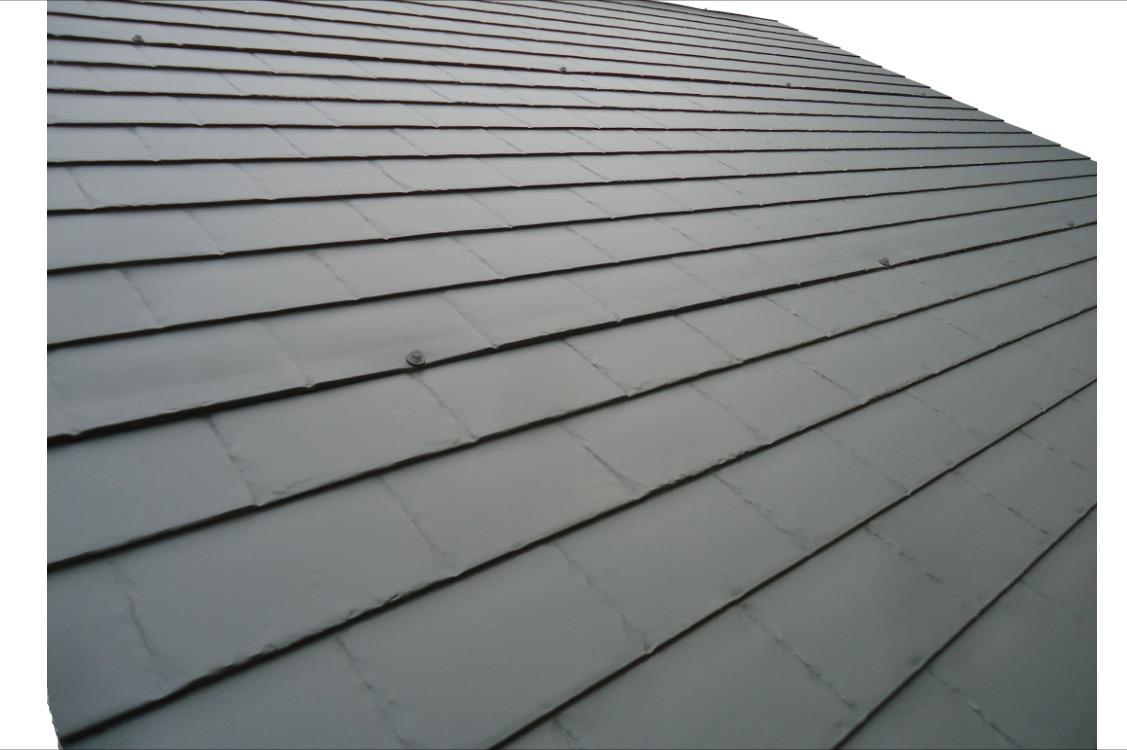 Fusion panel pizarra y teja pizarra ironlux desde 1989 for Chapa imitacion teja sin aislamiento